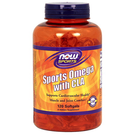 NOW Sporta Omega with CLA, Heart and Joint Care, 120ct ()