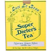 Super Dieters Tea-Lemon Mint Laci Le Beau 60 Bag