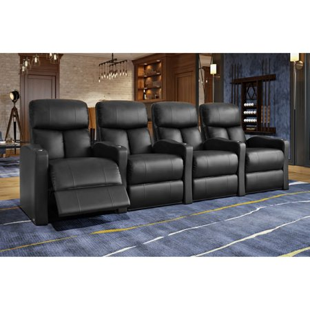 Octane Bolt XS400 4 Seater Power Recline Home Theater Seating