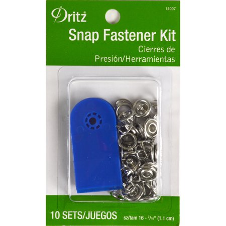 Dritz Snap Fastener Kit, 10 Count