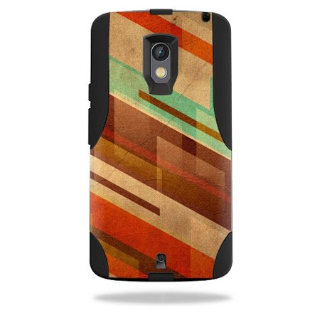MightySkins Protective Vinyl Skin Decal for OtterBox Commuter Motorola Droid Maxx 2 wrap cover sticker skins Abstract Wood