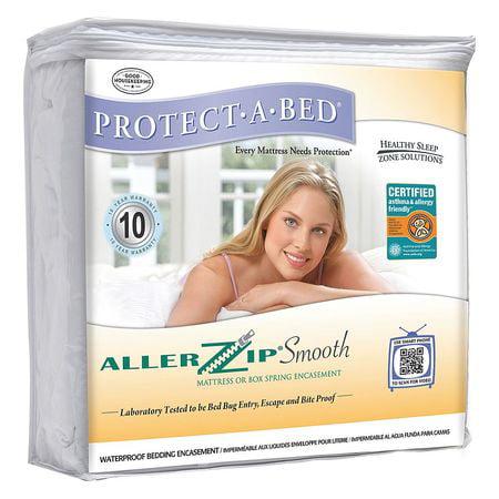 Protect A Bed Bom1713 Mattress Encasement  King  Poly  Pk8