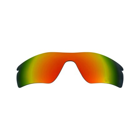Best SEEK Polarized Replacement Lenses for Oakley RADAR PATH Fire Red Mirror
