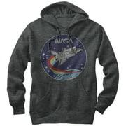 NASA Men's Space Rocket Hoodie