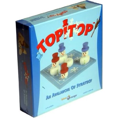 Topitop, Building Snowmen has Never Been So Exciting! Taking turns, you will move your playing pieces to build snowmen. But watch out!.., By Blue Orange USA Ship from (You Ship Usa)