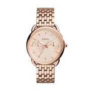 Fossil Women's Tailor Rose-Gold Stainless-Steel Quartz Watch (Style: ES3713)