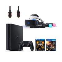 PlayStation VR Start Bundle 5 Items:VR Headset,Move Controller,PlayStation Camera Motion Sensor,PlayStation 4 Call of Duty Black Ops IIII,VR Game Disc PSVR EVE-Valkyrie