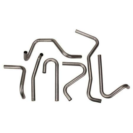 Mandrel Bent Mild Steel Tubing - Assorted Mild Steel Header Tubing Pipe Mandrel Bends, 1-1/2 Inch
