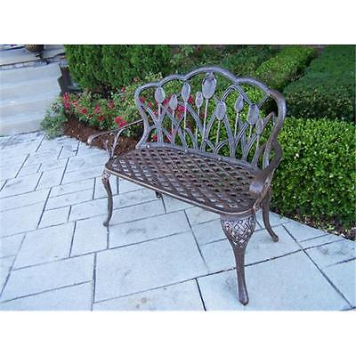 NewFurniture Oakland Living 1006-AB Tulip Loveseat Antique Bronze Furniture GSS02182306405 by GSS