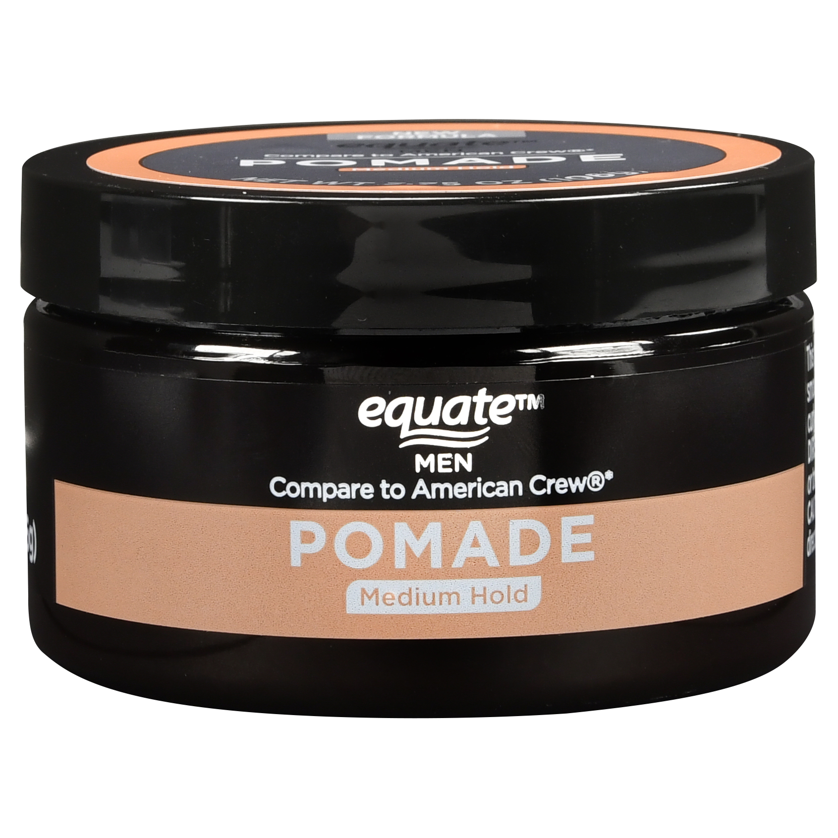 Equate Men Pomade, Medium Hold, 3.8 Oz