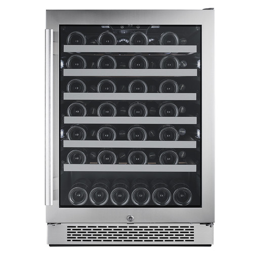 Avallon 54 Bottle Single Zone Built-In Wine Cooler