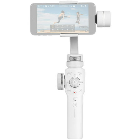 Zhiyun Smooth 4 Professional 3-Axis Handheld Gimbal Stabilizer White for
