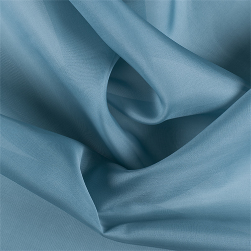 Seafoam Silk Organza, Fabric By the Yard