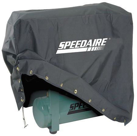 Speedaire 20VD59 Black Vinyl Backed Polyester Air Compressor Cover