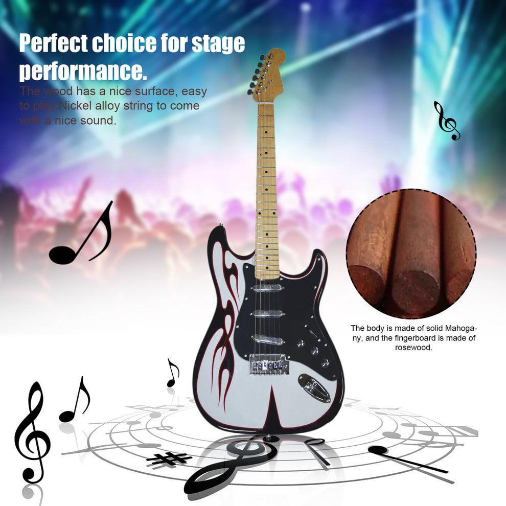 Electric Guitar SY-ST-004 Bass Wood Body Single Pickup Fi...