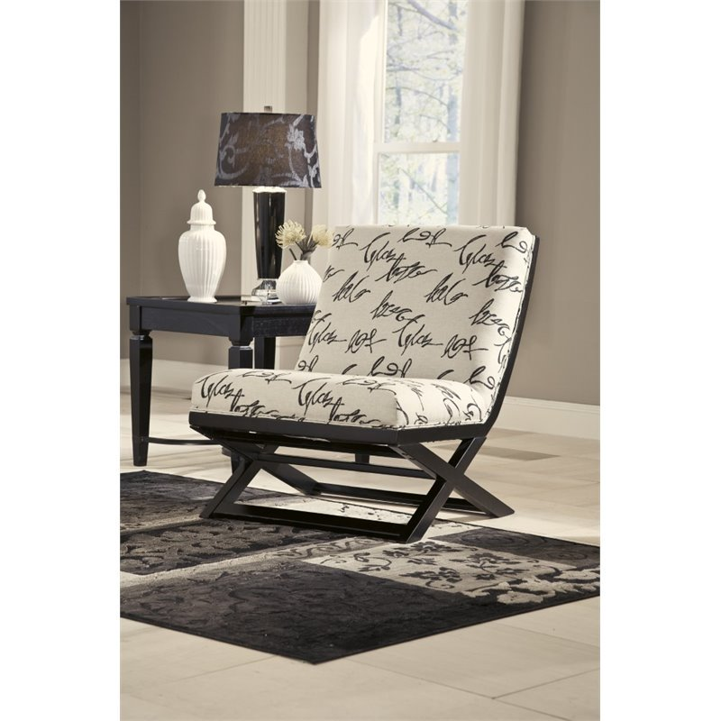 Awe Inspiring Ashley Levon Accent Chair In Charcoal Home Interior And Landscaping Elinuenasavecom