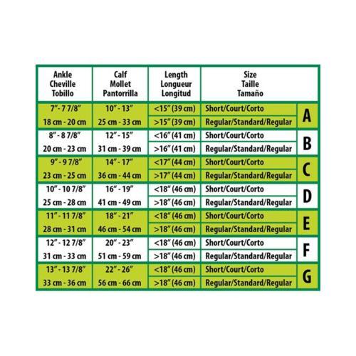Medline CURAD Knee-High Compression Hosiery,Beige,B MDS1702BTSH
