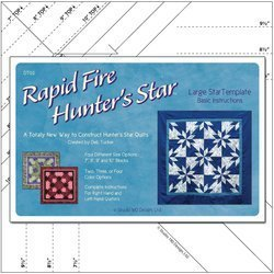 Rapid Fire Hunter's Star LARGE Template Studio180 -