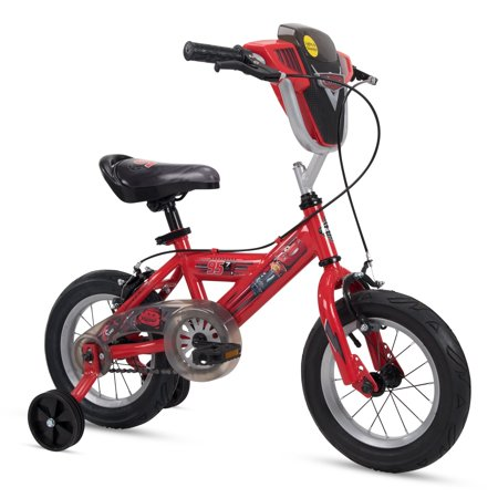 Huffy Disney Pixar Kid Bike Toy Story & Cars w/ 12-16 in Sizes Training Wheels Red Lights and Sounds Shield 12 inch - Adult Sized Green Machine