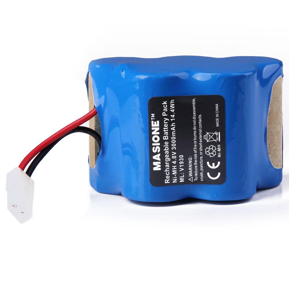 Masione 4 8v 3000mah Ni Mh Replcement Battery For Euro Pro