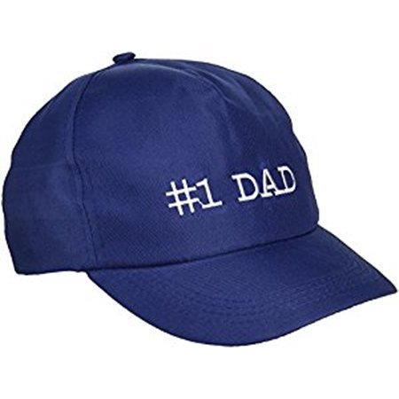 #1 Dad Baseball Cap Hat Father's Day Number 1 Best Gift Snapback