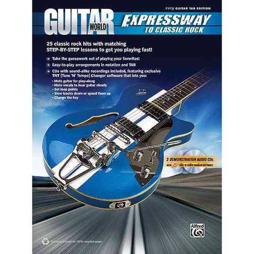 Guitar World: Expressway to Classic Rock, Easy Guitar Tab Edition