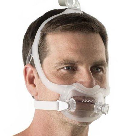 DreamWear Full Face (size M) CPAP Mask with Headgear (Model 1133376) by Philips Respironics (No (Best Full Face Cpap Mask For Side Sleepers)