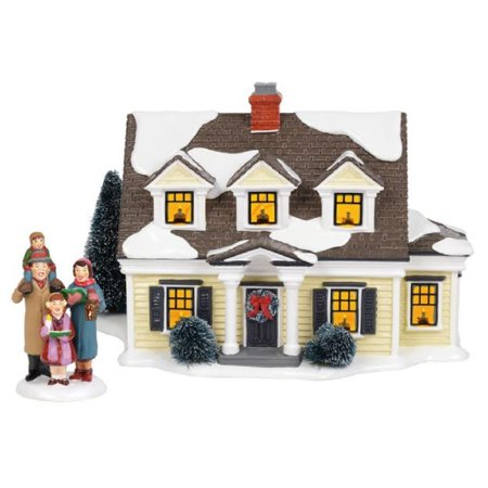 Department 56 Snow Village Welcoming Christmas 2 piece set 6002296 ()