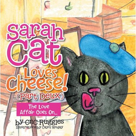 Sarah Cat Loves Cheese! (Part Deux) - - Halloween Cheese Ball Cat