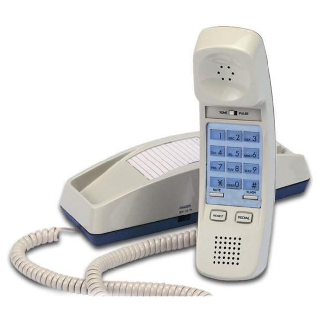 Cortelco 815044-VOE-21F Trendline Single-Line Corded Telephone in Ash - image 1 de 1
