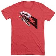 Chevy Split Window Sting Ray Mens Tri-Blend Short Sleeve Shirt