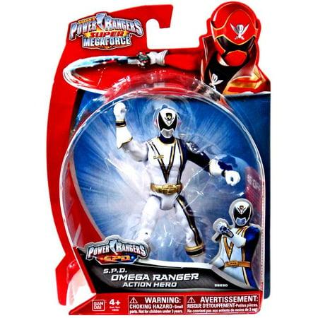 Power Rangers Super Megaforce S.P.D. Omega Ranger Action