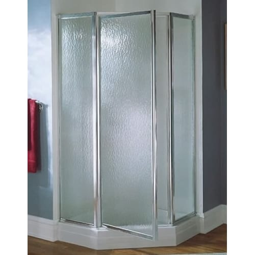 """Sterling NI3190A-38/W 72"""" Height x 38"""" Wide Neo Angle Shower Enclosure with Wall"""