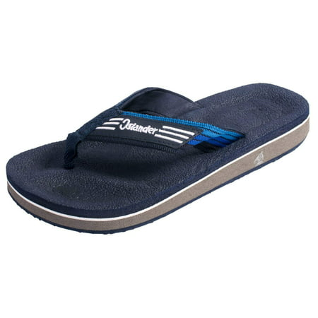 Brown Unisex Flip Flops - Filipino Islanders All-Weather Flip Flop Sandals