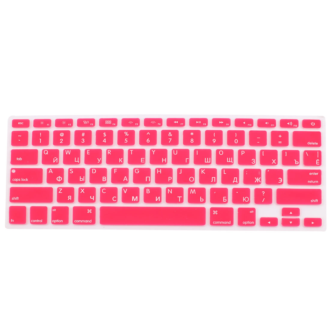 Russian Silicone Keyboard Skin Cover Red for Apple Macbook Air 13 15 17  US