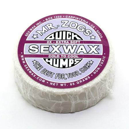 Sex Wax Quick Humps 2X Surf Wax Pack Of 2 Mr  Zogs