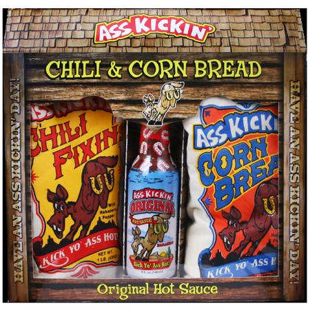 Ass Kickin' Chili & Corn Bread Gift -