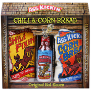 Ass Kickin' Chili & Corn Bread Gift Set