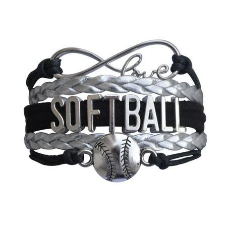 Softball Bracelet- Girls Softball Jewelry - Perfect Softball Player, Softball Teams and Softball Coaches Gitfts](Little Girls Bracelets)
