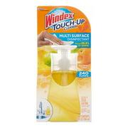 Windex Touch-Up Cleaner, Glistening Citrus, 10 Fl Oz
