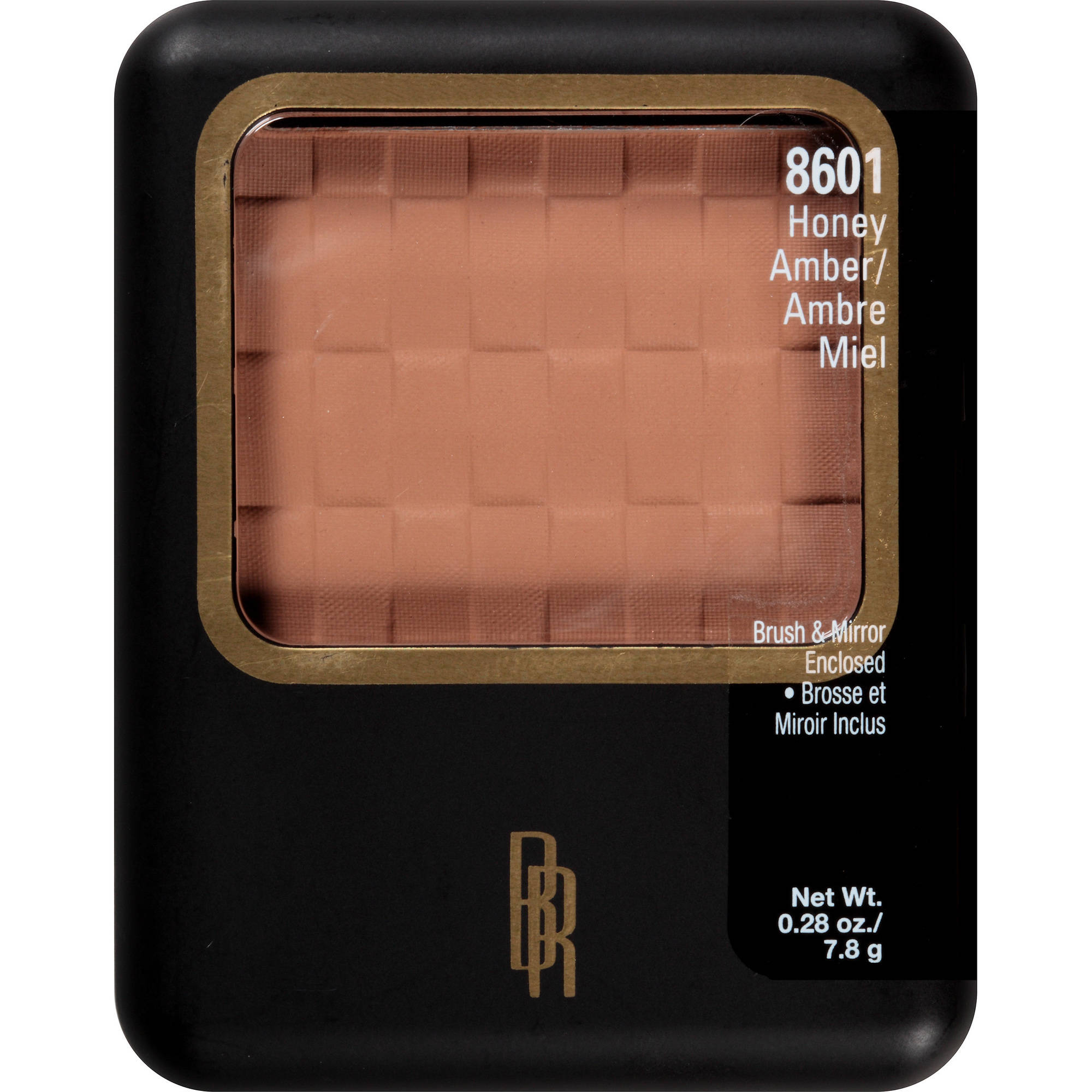 Black Radiance Pressed Facial Powder, 8601 Honey Amber, 0.28 oz