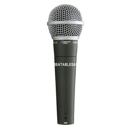 Pyle PDMIC58 Professional Moving Coil Dynamic Handheld Microphone - image 1 de 1