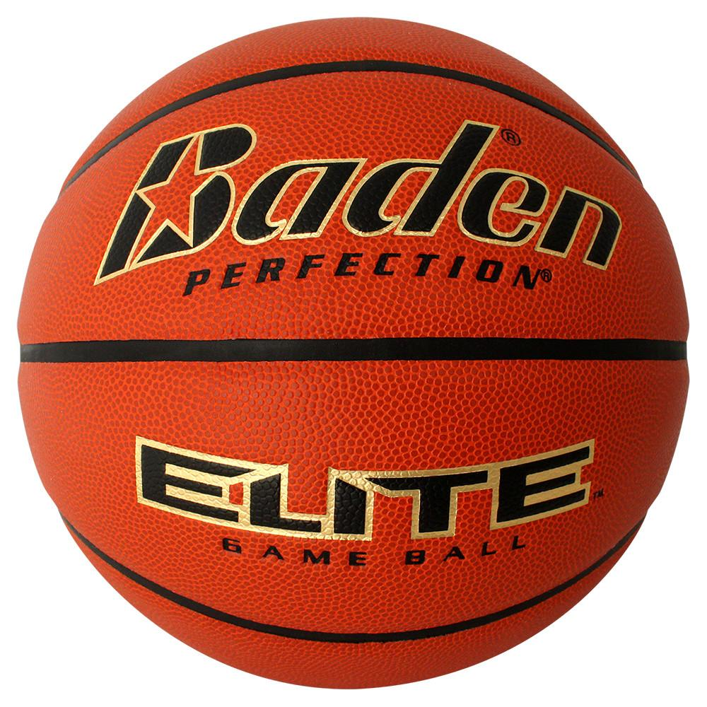Baden® Perfection® Elite™ Indoor Game Basketball - Official Size 29.5""