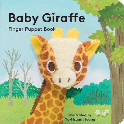 Baby Giraffe Finger Puppet Book (Board - Giraffe Puppet