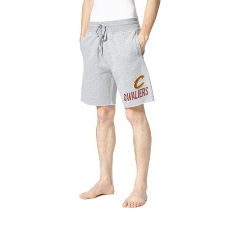 Men's Concepts Sport Gray Cleveland Cavaliers Acquire Fleece Shorts ()