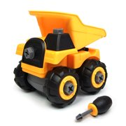 Wistoyz Take Apart Car Construction Toys for 2-3 -4 -5-6-7 Years Old Boys & Girls, STEM Toys with Screwdriver, Build Your Own Car Kit, Toy Cars for 2+ Year Old, DIY Assembling Loader Toy