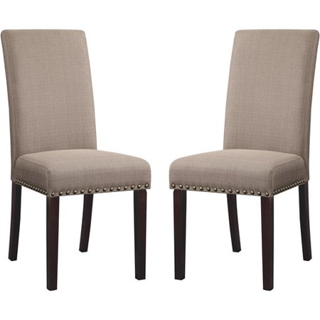 Dhi Nice Nail Head Upholstered Dining Chair 2 Pack Multiple Colors Com
