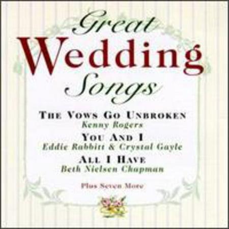 Great Wedding Songs / Various (CD) ()