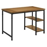 Linon Austin Two Shelf Desk