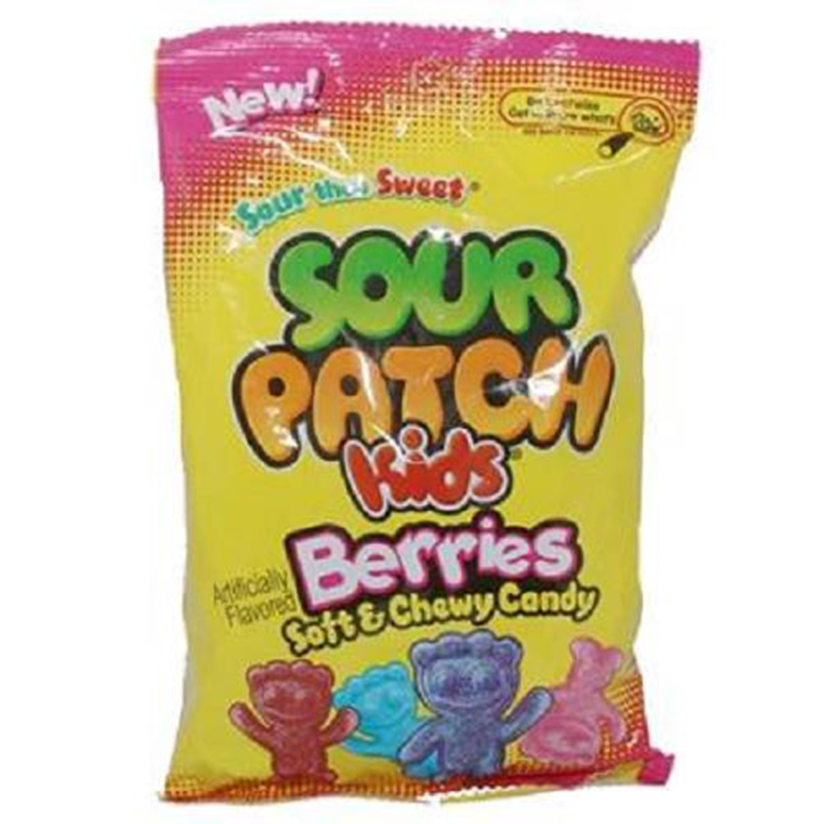 Sour Patch Kids, Berries, 7.2-Ounce (Pack of 12)